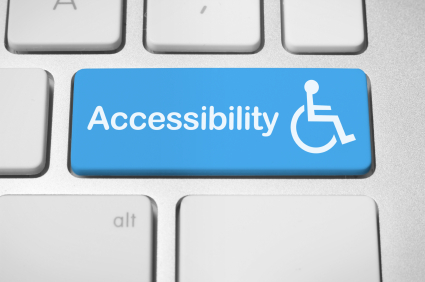 Accessibility on keyboard