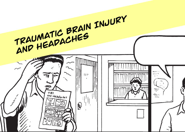 TBI and Headaches Infocomic