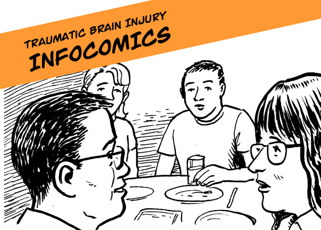 Living with Traumatic Brain Injury - Infocomics