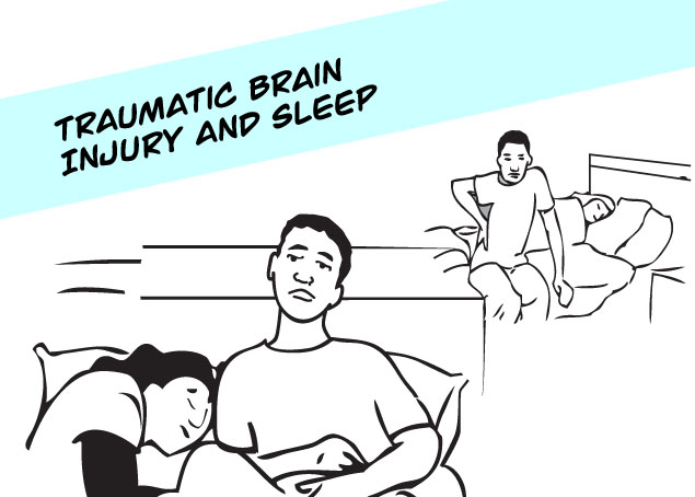 TBI and Sleep Infocomic