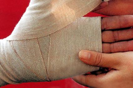 El cuidado de la herida después de una lesión por quemadura